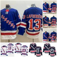 New York Rangers Jerseys 13 Alexis Lafreniere 10 Artemi Panarin 24 Kaapo Kakko 93 Mika Zibanejad 23 Adam Fox 20 Chris Kreider Hockey Jersey