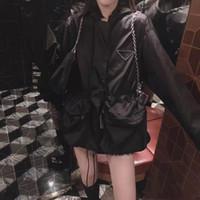 Damen Designerjacke mit Kapuze Mode Masselfarbe Windjacke Jacken Casual Damenjacke Mantel Kleidung Größe S-L