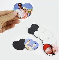 10 Styles Sublimation Blank Fridge Magnets DIY Sublimation Home Furnishing Decorate Blanks Lovely Soft Refrigerator Magnet DDA712