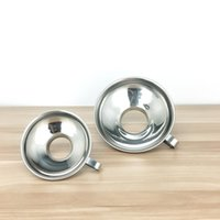 Acciaio inossidabile Wide Mouth imbuto di inscatolamento Hopper Filtro per Wide regolari Vasi cucina d'LX3612