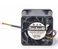SANYO 9GV0412P3J11 9GV0412P3J23 4 CM 4028 40mm 4-pinowy podwójny piłka PWM Potężny wentylator chłodzący