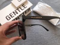 2020 New coreano uomini di disegno di tendenza GM ampio frame Occhiali da sole donna Vintage delicato Occhiali da sole Pacchetto originale HER Y200619