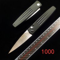 벤치 메이드 BM1000 1000S AUTO SPIKE 자동 KNIFE (3.41'STONEWASH의 SERR) 야외 캠핑 EDC 도구 BM (940) 9400 (535) 3551 C81 C10 C85 C239 칼