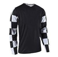 T-shirt de raccourci rapide en polyester en polyester de la moto hors route