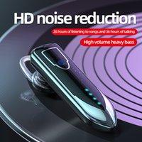 ME-3 Bluetooth 5.0 Led Drahtlose Kopfhörer Touch Control drahtlose Bluetooth-Ohrhörer Ohrbügel Typ Kopfhörer für Telefon