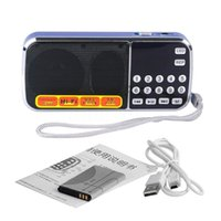 패션 L-088 휴대용 고음질 미니 MP3 오디오 플레이어 스피커 마이크로 SD TF FM 라디오