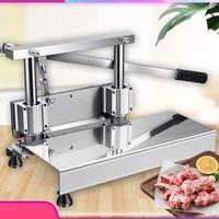 Free Shipping Best Quality Home Use Pork chops Cutting Machine Manual Bone Cutter