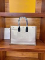 2021 Sac à bandoulière portable de luxe Dame de luxe Link Link et coton Sac shopping vertical fourre-tout sac de transport de haute qualité Mode A2