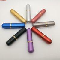 500PCS / lot Huile essentielle Aluminium Nasal Inhalateur Bâtons vierges Sticks Aromathérapie Tubes métalliques avec Wholesale PriceHigh Qualtiy