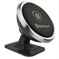 새로운 basus 고품질 자동차 전화 홀더 360도 GPS 마그네틱 모블레 전화 홀더 아이폰 XS 삼성 S9 공기 통풍 마운트 스탠드 공장