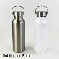 Bottiglia d'acqua di stampa bianca di alta qualità BOTLIMAZIONE ACQUA ACCIAIO IN ACCIAIO INOSSIDABILE ACCIAIO INOSSIDABILE ACCIAIO IN ACCIAIO INOSSIDABILE DI TERMICA