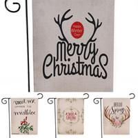 Хэллоуин Флаги сад Флаг рождественские украшения 2020 персонализированный украшения Подарки Открытый блесна Цветок декоративный узор Письмо 6 5xl F2