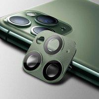 لiPhone11 برو ماكس 11pro 11 HD الزجاج المقسى عدسة الكاميرا شاشة حامي عدسة السينمائي