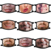 Mask Decor Cat Mouth Personality Cartoon Diy Face Dustproof ...