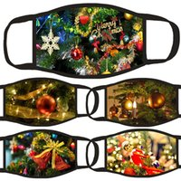 Мода Make Mask Multi дизайн шаблон мультфильм животное рождественские украшения хлопчатобумажные маски рот пылезащитный унисекс взрослый дыхательный 3 9KL L2