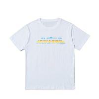 Brand New Fashion Mens T Shirt Streetwear Uomo Donne Hip Hop Manutore corto Manubri Stilista Tees Nero Bianco