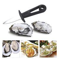 Shells Opener Oyster Knife Freschi Oyster Seafood Aposto strumento Strumento Scacco Coltello In Acciaio Inox Professionale BBQ Speciale Shucking Schoolfish HHE4221
