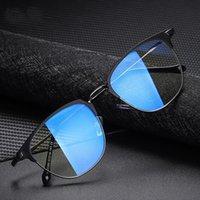 Солнцезащитные очки 2021 Мужчины Женские Очки UV400 Очки Голубое Света Блокировка Прозрачная Оптика Женская Мода Компьютерные Женские Женские Мужчины