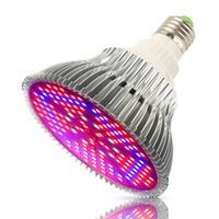 E27 30 50 80 100W 전체 스펙트럼 LED 가벼운 150 LED 실내 식물 꽃 씨앗 정원 야채 온실 텐트