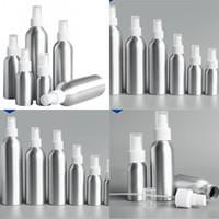 Bottiglia d'atomizzatore di alluminio bottiglia di metalli in metallo flaconi vuoti Fine Mist pompa Atomizzatore Contenitore cosmetico 30ml 50ml 100ml 150 ml 250ml 500m 96 J2