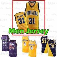 Индиана «Pacers» Джерси Реджи 31 Миллер UCLA Bruins College Vince Tracy 1 McGrady Carter Allen Ray Iiverson Men Basketball Trierseys