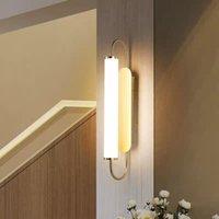 5W LED Wall Luzes Interior Sala de Estar Lâmpada De Parede Moderna Vidro Iluminação Decorativa Para O Quarto Caminho Corredor Escadas