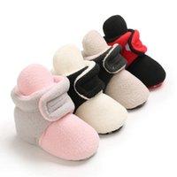 Первые ходунки ребёнок девушка осенняя кроватка теплые ботинки малыш мягкий нижний фри