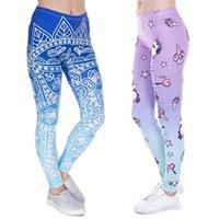 Leggings 3D Mode féminine graphique complète Imprimer Pantalon maigrichonne extensible bien ajusté élastique Slim sprots Pantalon Fitness Crayon