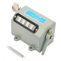5-значный механический CLEAT CLEAT CLEAN CHIND Ручная рука подсчет цифровой счетчики