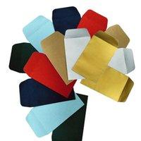Shatter feuille de papier aluminium perle Enveloppe Rectangle d'emballage Impression d'enveloppes bronzante papier Enveloppe d'emballage Papier d'emballage YFALS2039