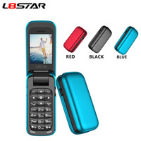 Новый разблокированный L8STAR BM60 Mini Flip Music Phone Phone Bluetooth наберите мобильный телефон FM Radio Magic Changer Changer 3.5 Наушники Jack MP3 Музыкальный проигрыватель