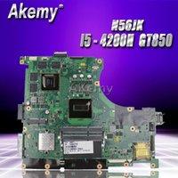 Материнские платы Akemy N56JK Материнская плата 8 Память 2 Слоты оперативной памяти для Asus G56JK Материнская плата ноутбука