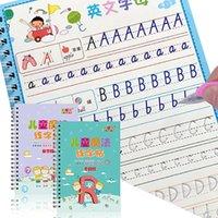 Crianças mágico da caligrafia Livro atacado Magia Livro de Exercícios Student suprimentos modelo de prática palavra caderno Partido Spplies IIA