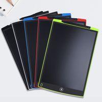Sıcak 8.5 inç LCD Yazma Tablet Çizim Kurulu Blackboard El Yazısı Pedleri Hediye Çocuklar için Kağıtsız Not Defteri Tabletler Memo ile Yükseltilmiş Kalem