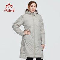Astrid New Winter Damen Mantel Frauen langer warmer Parka Mode Jacke mit Kapuze Zwei Side Wear weibliche Kleidung des neuen Entwurfs 9191 201026