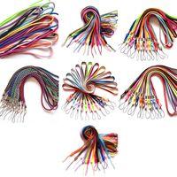 Clips de cordón Collar de colores Cuerda de cuerda Cuello de cuerda para caliburn Novo Evod Ego POD Ecig con tapa de polvo de silicona O Anillo 7 Tipos DHL