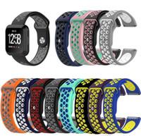 Fitbit Versa Bileklik NK Bilek Kayışı Akıllı İzle Band Kayışı Yumuşak Watchband Yedek Smartwatch Band İçin Yeni Geliş Çift renkli