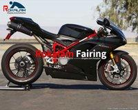 Motorbike Bodywork Kit para Ducati 848 1098 1098S 1198 2007 2008 2009 2010 2011 ABS Sportsbike Caracteres Cowling (moldagem por injeção)