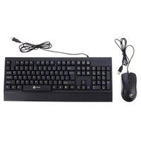 1 Set Computer di alimentazione Tastiera Mouse Combo USB Keyboard mouse Affari impermeabile per Dorm Ufficio Scolastico casa