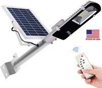 Buitenverlichting 10W 20W 30W 50W 100W Gebruik voor Tuin Square Highway Waterproof Solar Street Lamps