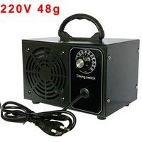 Générateur d'ozone 220v Purificateur d'air pour la maison Ozonator 48g ozoniseur Ozono desinfection Filtre à air Sanitizing machine