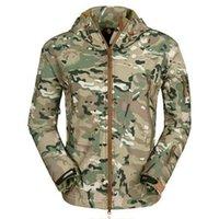 2020 JODIMITTY Yeni Bahar Açık Ceket Erkekler Moda Kamuflaj Baskılı Su geçirmez Palto Casual WINDBREAKER Kapşonlu Ceket