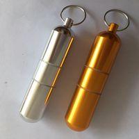 Многофункциональный горшок Уплотнение Съемное хранение Бак Алюминиевый сплав Портативная резьбовая бутылка маленькая открытая новая 3 8ZD O2