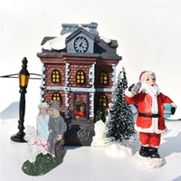 The New Christmas ornaments the luminous house 10- piece smal...