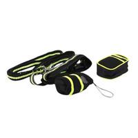 Hund Autositzbezüge Multifunktions Tragbare Haustier-Snack-Taschen Reflektierende Taille Gürteltasche Taschen Beutel Handy Kordelzug Set mit Leine