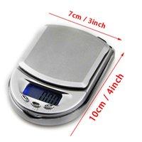 Haute précision LCD Digital Balances Mini Pocket Bijoux Balances Gold Gold grammes Balance de poids 100g 200g / 0.01 500g / 0.100g / 0.1G YYF4214
