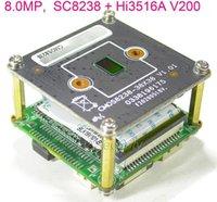 """8.0MP 8MP 4K H.265 IPC 1 / 2.7 """"Smartsens SC8238 CMOS SENSOR + hi3516A V200 IP CCTV Camera PCB Módulo de placa PCB (partes opcionais) 1"""