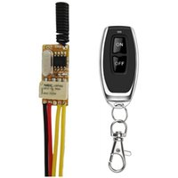 3.7V Mini RF Remote Switch 433 315 4.2V 4.5V 5V 6V 7.4V 9V 12V Small Relay Contact Wireless Switches NO COM NC Relay Contact ASK