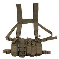 MultiCam táctica munición torcer papel extraíble caza airsoft paintball engranaje chaleco con AK 47/74 revista bolsa 201214