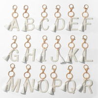 Keychains Marbling Acetato Inicial Chaveiro Cor De Ouro Resina Alfabeto 26 Português Palavra Key Chaveiro Jóias Acessórios1